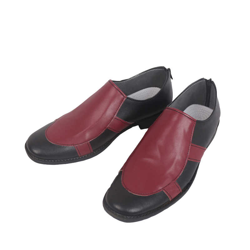 ROLECOS أنيمي جوجو مغامرة غريبة تأثيري أحذية غيدو Mista تأثيري الأحمر و حذاء أسود للرجال تأثيري الأحذية تخصيص حجم