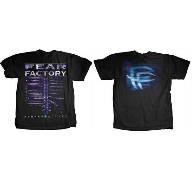 FEAR FACTORY Demanufacture T Shirt twin peaks