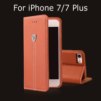 Original Xundd Luxury Shockproof Flip Magnetic Stand PU Leather Case For IPhone 7 7 Plus Cover