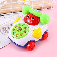 Hot New Baby Music Cartoon Imitate Phone Toys For Educational Developmental Kids Toy Gift