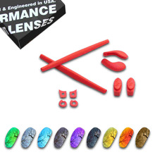 цена на ToughAsNails Resist Seawater Corrosion Polarized Replacement Lens&Red Rubber Kit for Oakley juliet - Multiple Options