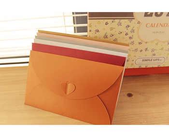 QSHOIC 50pcs/set envelopes for invitations weeding envelope 17.5*11cm(1inch=2.54cm) paper envelopes wedding invitation envelope