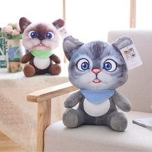 1pc 12cm Mini Cute Plush Cat Toys Stuffed Plush Animals Cartoon Cat Doll Toys Kids Toys Girls Gifts