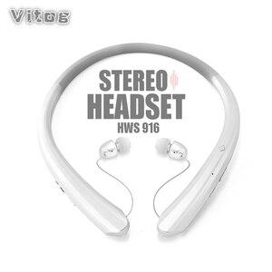 Image 1 - Casque sans fil Sport stéréo Bluetooth bandeau écouteur casque pour la course casque avec micphone basse écouteurs écouteurs