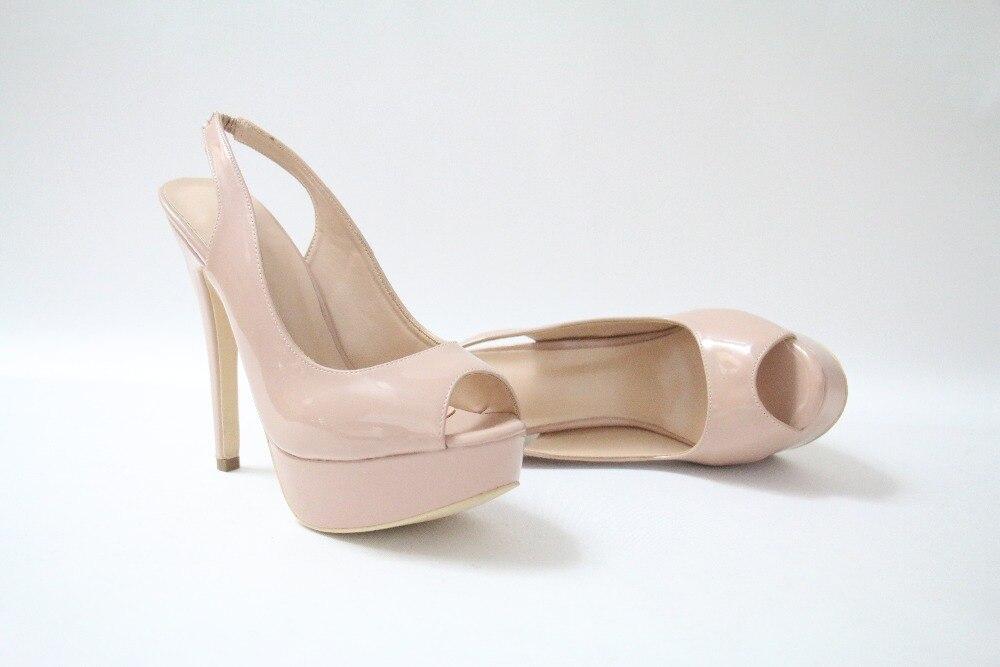 Talons Super 42 Retour Beertola Haute Stilettos Chaussures Luxe Ouvert De forme Strap Peep Femme 36 Toe Marque Sandales Plate Nude Dressing C6qWCF4