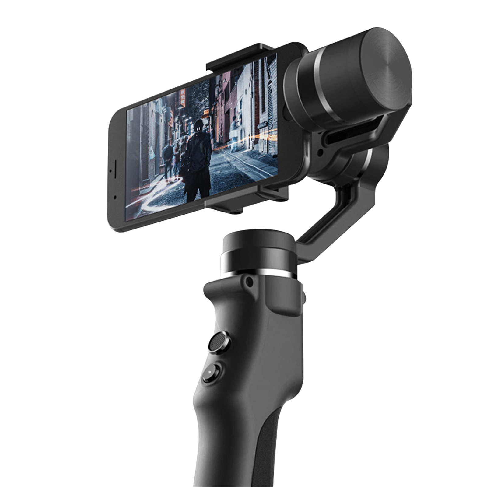 Handheld Capture Gimbal Stabilizer for Smartphone Wireless Control Vertical Shooting Pan ...