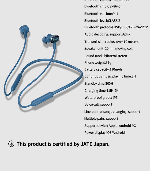High Quality wireless bluetooth earphone