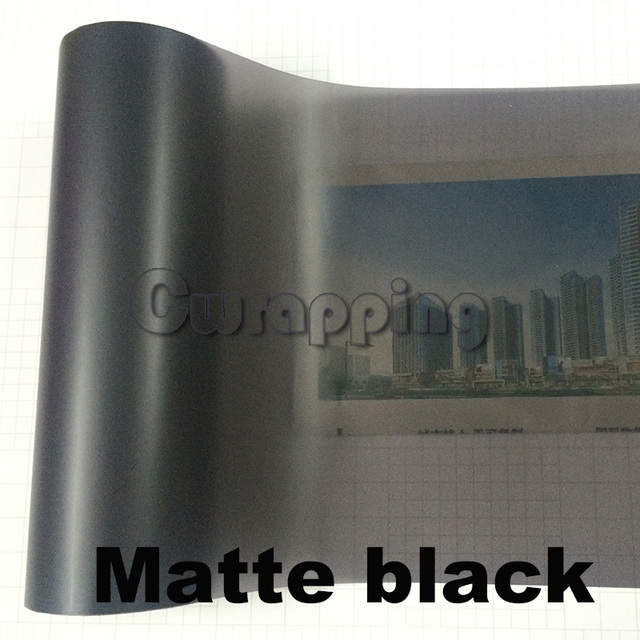 Auto Car Tint Headlight Taillight Fog Light Vinyl Smoke Film Sheet Sticker Cover Car styling 12inch x 40inch 4