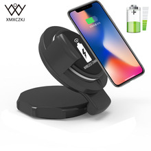 Mini Wireless Car Fast Charger Phone Holder Dashboard Suction Mount QI Charging Suckers For iPhone X 8