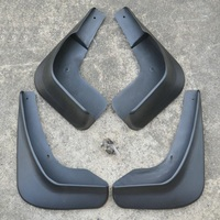 Free Shipping High Quality ABS Plastics Automobile Fender Mudguards Mud Flaps For 2007 2012 Ford Mondeo MK4