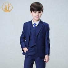 73e8eda2f5a29 Bleu agile garçons costumes pour mariages enfants Blazer costume pour garçon  costume enfant garcon mariage jogging
