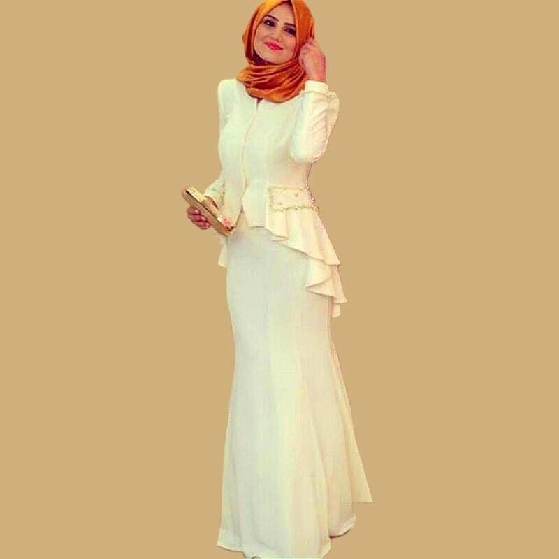 Arabic Saudi Arabia Turkish font b Islamic b font Clothing Women Formal Gowns Prayer Kaftans font