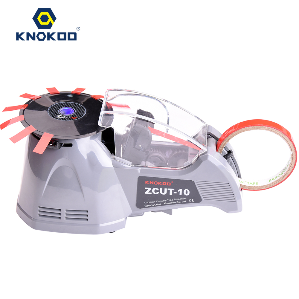 KNOKOO ELectronic Automatic Packing Tape Dispenser ZCUT-10 Tape Cutter Machine automatic tape dispensers electric tape dispensers automatic tape cutter machines automatic tape dispensing machines