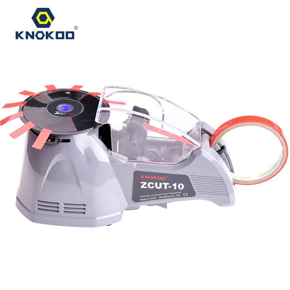 KNOKOO Eletrônico Dispensador de Fita do Cortador de Fita ZCUT-10 Máquina de Embalagem Automática