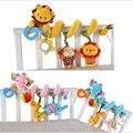 Alta Qualidade Quente Do Bebê Cama Berço Musical de Pelúcia Torno Chocalhos Mobiles Sino Dos Desenhos Animados Recém-nascidos Crianças Educacional Developmental Brinquedos
