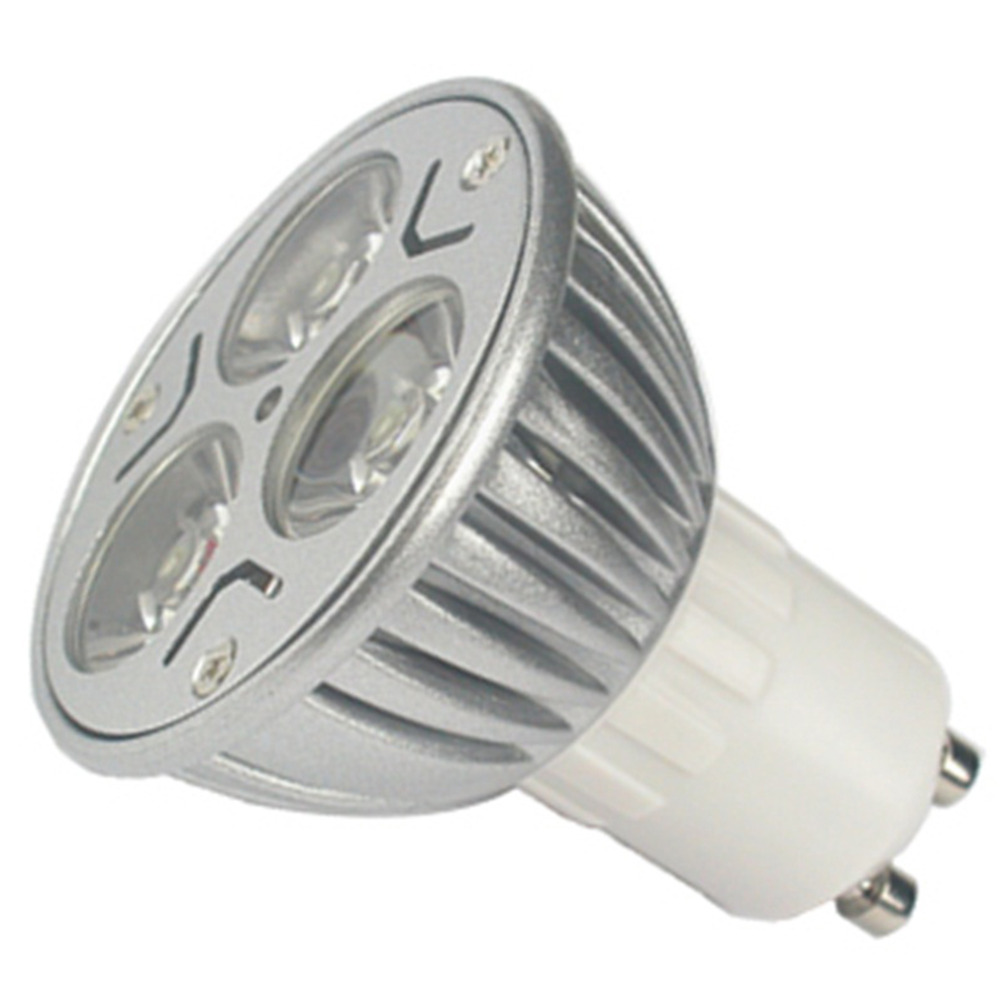 3 LED GU10 Light Bulbs Day White Lamps Energy Saving Super Deal! Inventory Clearance image