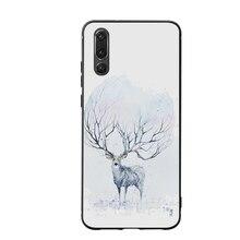 Deer  Phone Cases Cover for Huawei P30 lite pro nova 3i Mate 20 Case P smart 2019 Soft
