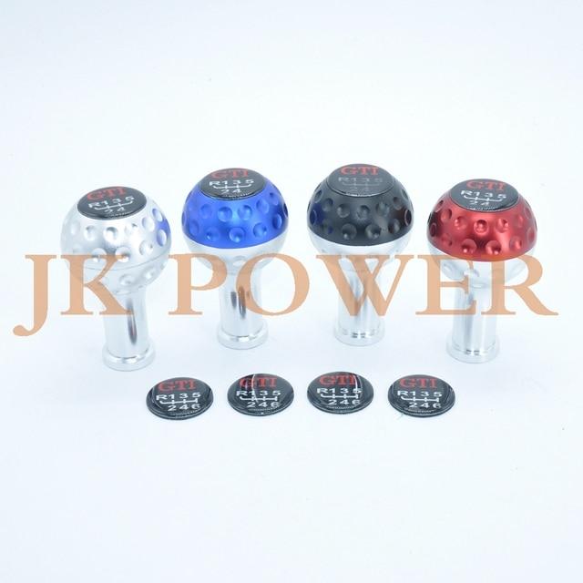 JK POWER Универсальный GTI гольф стиль 5 скоростей 6 скоростей автомобиля ручной автоматический MT ручка переключения передач