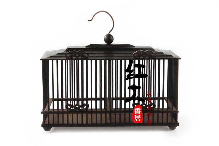 Rosewood mahogany double door boutique cricket cage cage high grade cricket cage wood cage boutique
