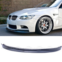 OLOTDI Car Styling Carbon Fiber Front Lip Bumper Protector For BMW 3 Series E92 E93 M3 ARKYM A style 2008 2013