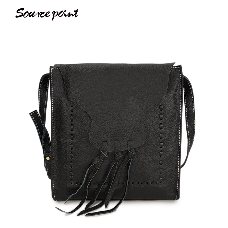 YISHEN Genuine Cow Leather Casual Knitting Women Tassel Bags Large Capacity Female Shoulder Bags Fashion Crossbody Bag YD-06670# tuan hue thi learning structured data for human action analysis