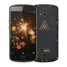 """Оригинал AGM X1 IP68 Водонепроницаемый прочный смартфон 5.5 """"FHD 4 ГБ Оперативная память 64 ГБ Встроенная память Snapdragon 617 Octa core отпечатков пальцев 5400 мАч OTG NFC"""