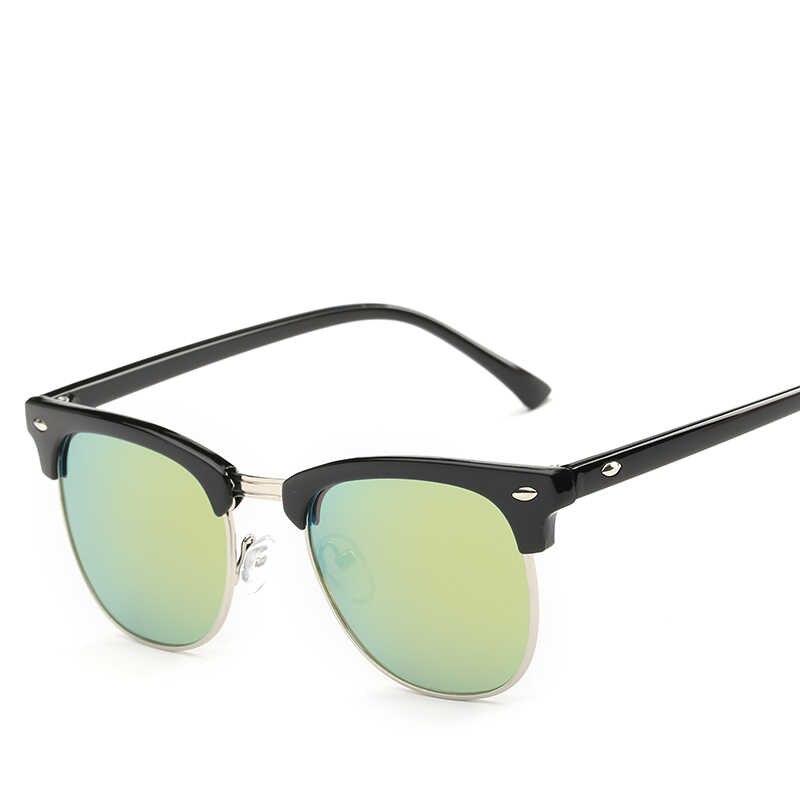 af9eea111566 ... Hindfield UV400 Sunglasses Men Women Brand Designer Dark Glasses  Coating Mirror Sun Glasses Unisex Driving Eyeglasses ...