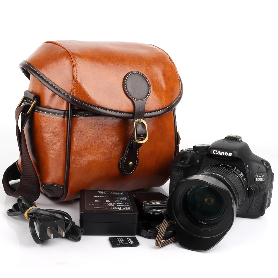 PU DSLR Camera Bag Case For Olympus PEN-F E-M10 E-M5 E-P5 E-PL9 E-PL8 E-PL7 E-PL6 E-PL5 E-P3 E-P2 E-P1 E-PL3 E-3 E-5 E-300 E-410