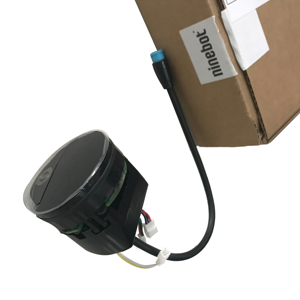 Kit de tableau de bord d'origine pour Ninebot Kickscooter ES1 ES2 ES3 ES4 accessoires d'affichage de tableau de bord de Scooter électrique intelligent léger