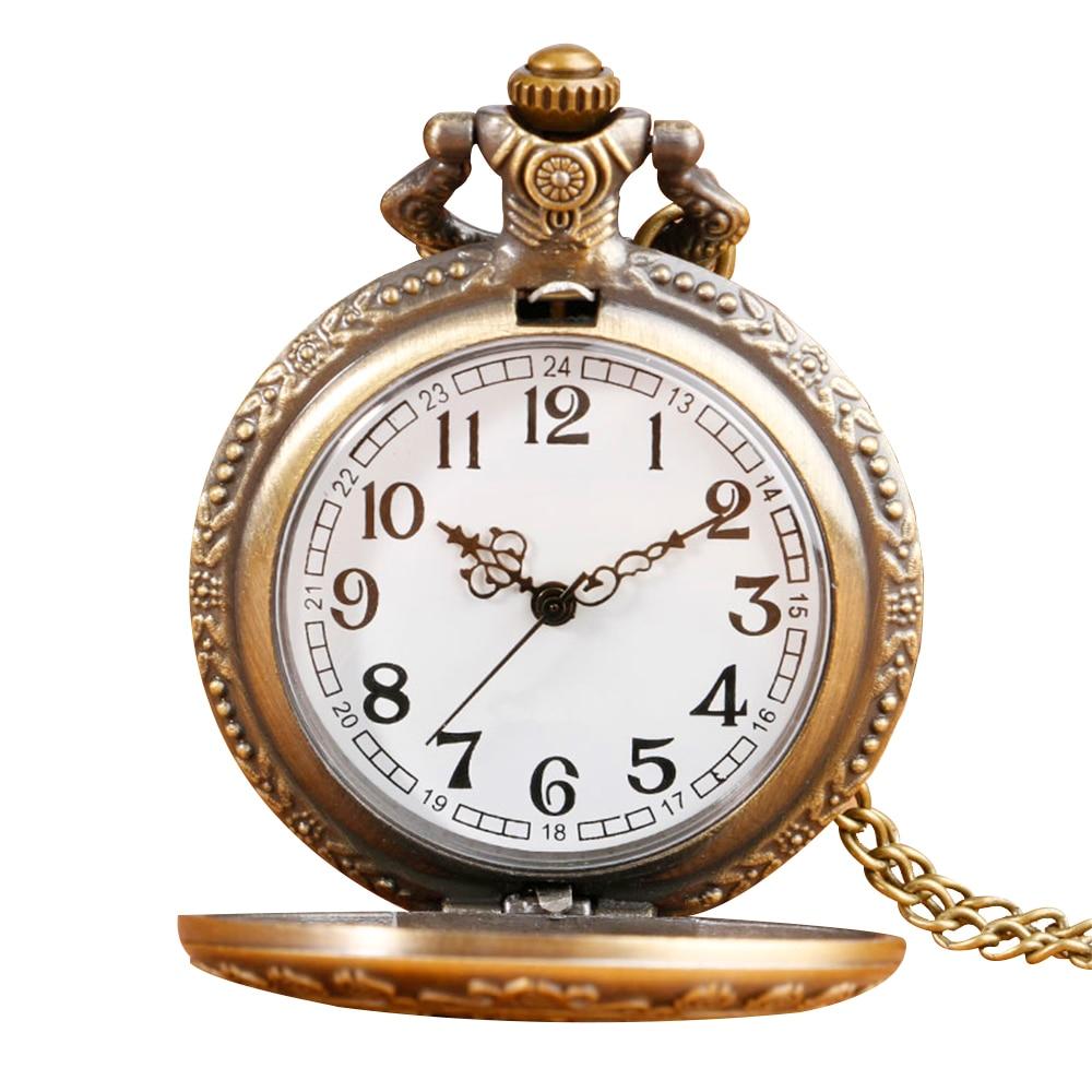 New Arrival Retro Alice In Wonderland Theme Bronze Quartz Pocket Watches Vintage Watches Christmas Brithday Gift deadpool fullmental alice in wonderland nightmare before christmas captain america superman batman loki pocket watch
