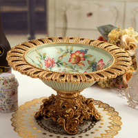 Kapok fashion new style fashion big fruit plate candy tray gift fruit bowl
