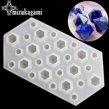 1 шт Прозрачная силиконовая форма для изготовления ювелирных