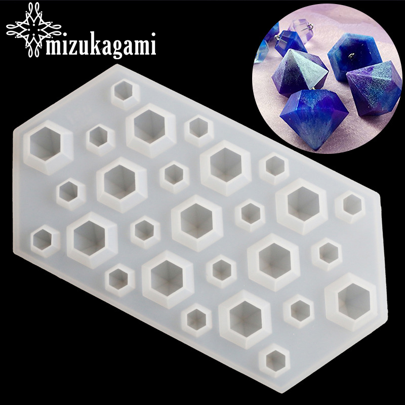 1pcs UV Resin Transparent Diamond Silicone Mould Jewelry Making Mold Sugarcraft DIY Resin Molds For Jewelry1pcs UV Resin Transparent Diamond Silicone Mould Jewelry Making Mold Sugarcraft DIY Resin Molds For Jewelry
