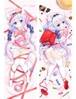 Japanese Anime Kobayashi-san Chi no Maid Dragon Cute Kanna Kamui Dakimakura Hugging Body Pillow Cover Case 17012