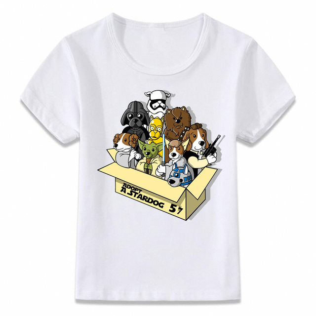 Kids Clothes T Shirt Adopt A Box of Cuties Toothless Groot Totoro T-shirt  for Boys and Girls Toddler Shirts Tee 46151dc9a04
