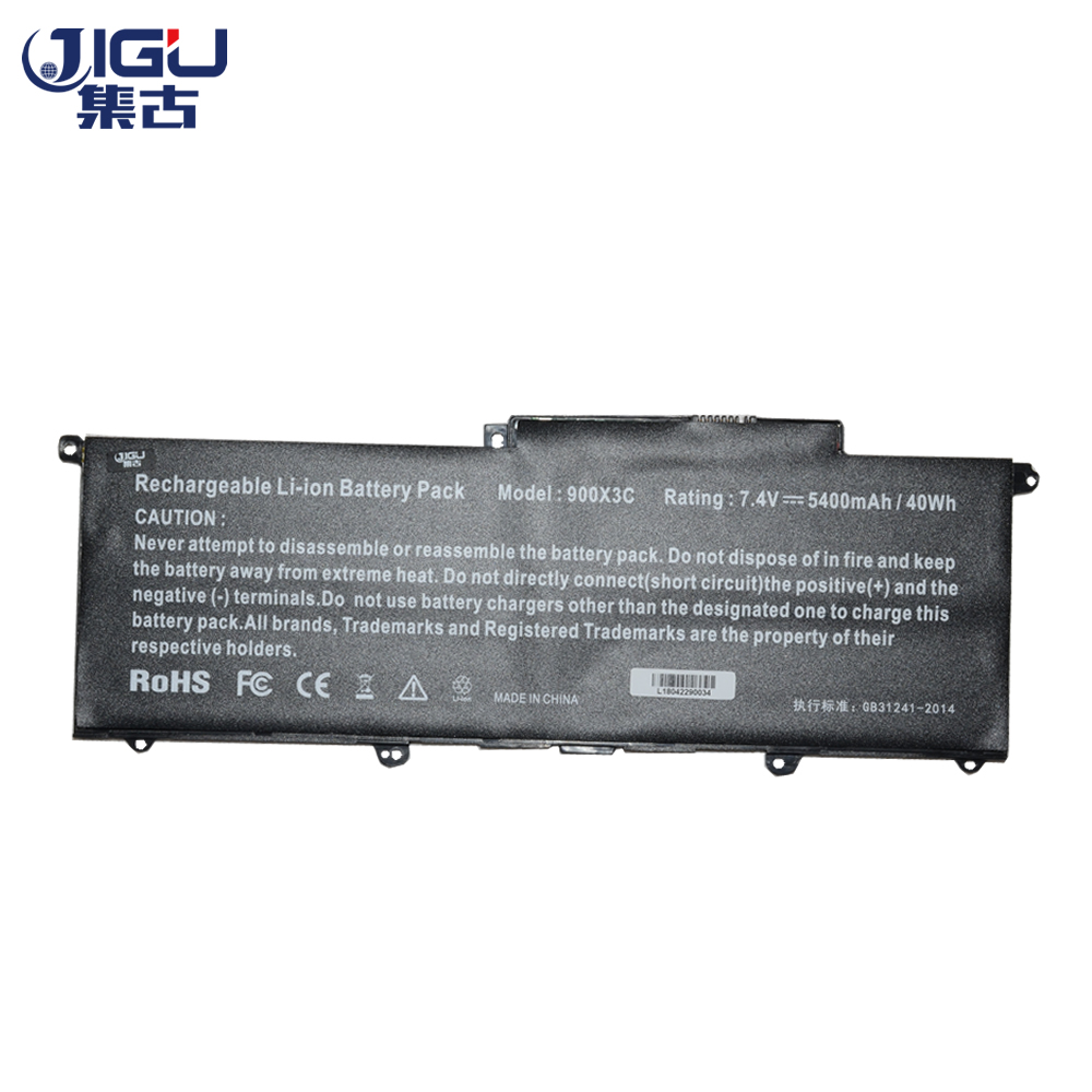 JIGU 3CELLS Laptop Battery AA-PBXN4AR AA-PLXN4AR BA43-00349A For SAMSUNG 900X3C 900X3D 900X3E NP900X3C NP900X3D NP900X3E