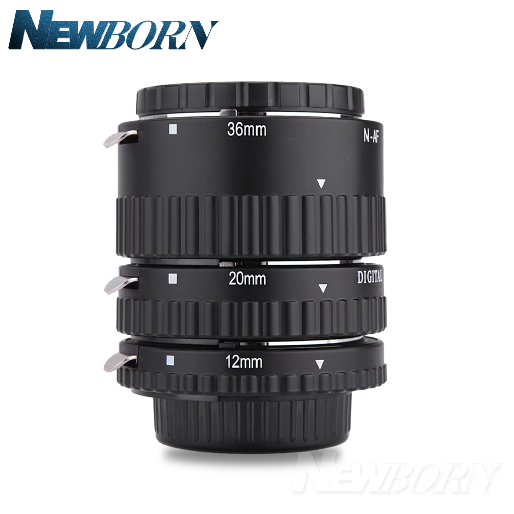 Meike Auto Focus Macro Extension Tube Set Ring for Nikon D7500 D7200 D5600 D5500 D5300 D3400 D3300 D850 D810a D750 D5 D4 Camera