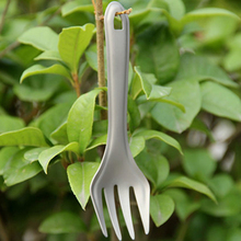2017 New Titanium Fork Titanium Tablewares Outdoor Cutlery Portable Camping Healthy Non-toxic Lightweight 10g Fire Maple FMT-T20