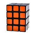 CubeTwist 3X3X4 Camouflage Speed Magic Cube Puzzle Toys for Kids Children - Black