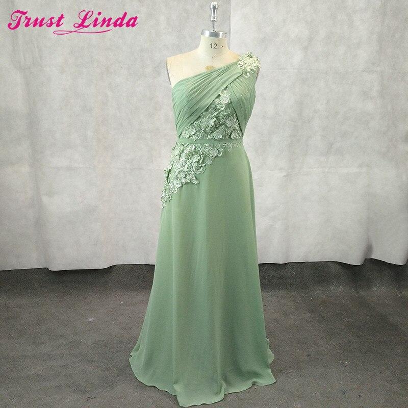Elegant Appliques Bridesmaid Dresses Ever Pretty One Shoulder