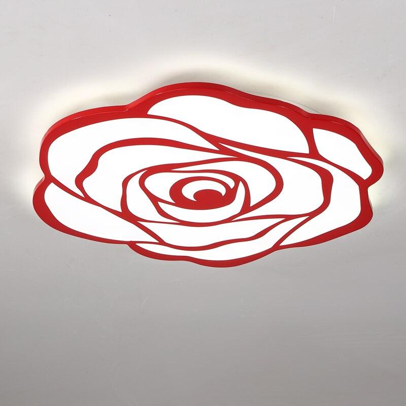 Modern LED rose ceiling light bedroom ceiling romantic fashion wedding lantern lighting ceiling lamps ZA1129345