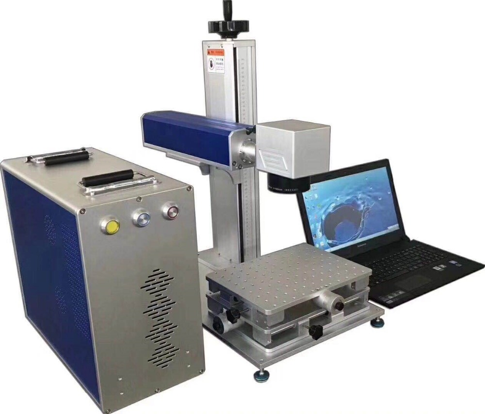 High Performance 20W Lasr Marking Machine For IC, Electrical Appliances, Mobile Phones