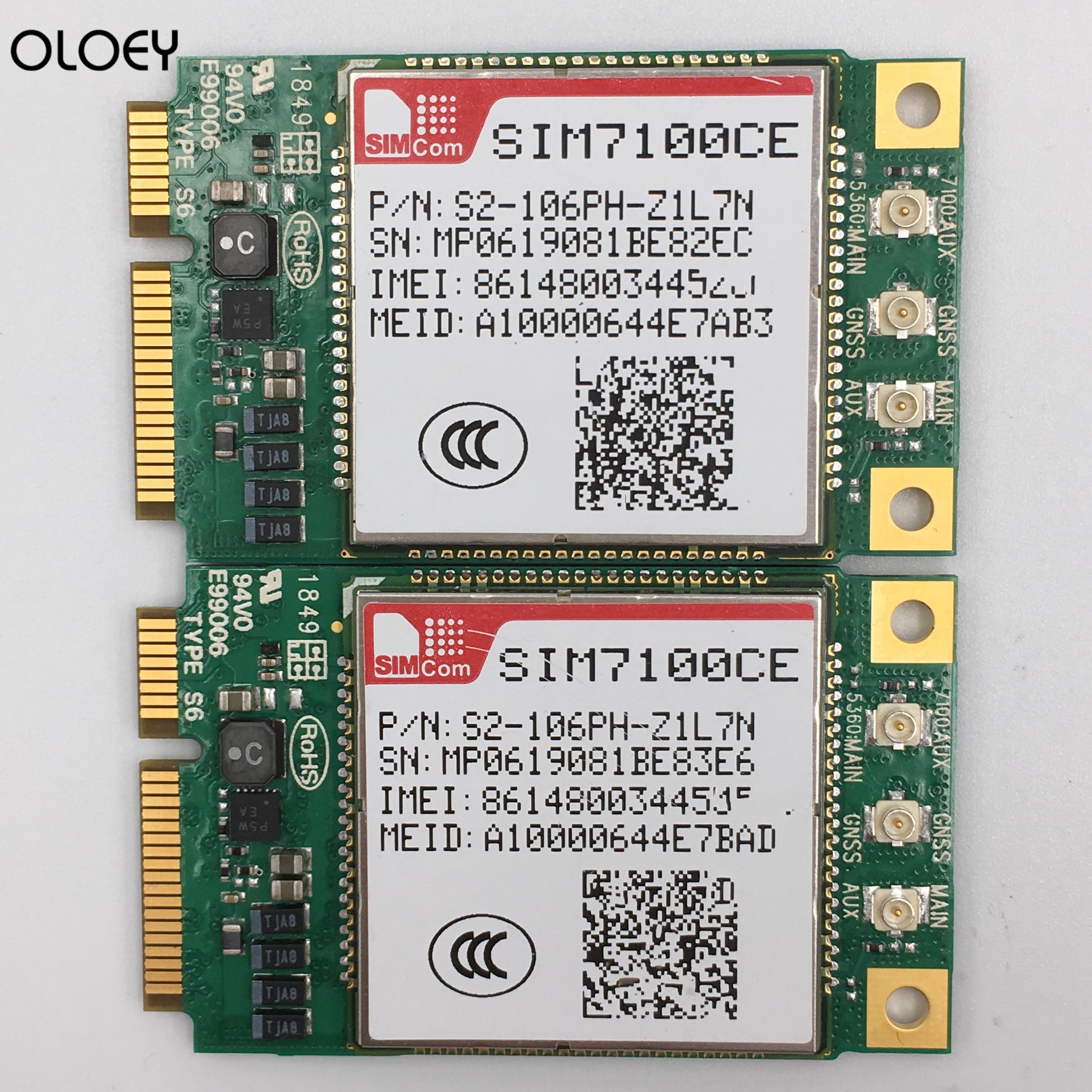 SIM7600CE-PCIE 4g module TDD-LTE B38 B39 B40 B41 B1 B3 B8 LTE module mini pcie