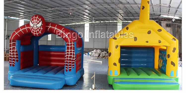 Outdoor Inflatable Spider Man Moonwalk Trampoline Bouncer-inflatable spider bouncerinflatable spider bouncer castle portable (4)