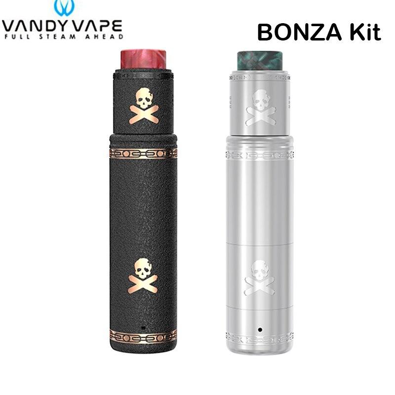D'origine Vandy Vaporisateur Bonza Kit Bonza MOD Tube Vaporisateur avec Bonza V1.5 RDA Vandyvape Électronique Cigarette Vaporisateur Stylo Vaporisateur