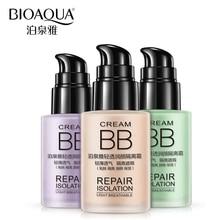 BIOAQUA Brand BB Cream Face Foundation Make Up Primer Moisturizer Base Maquiagem Whitening Breathable Flawless Cover Acne Makeup