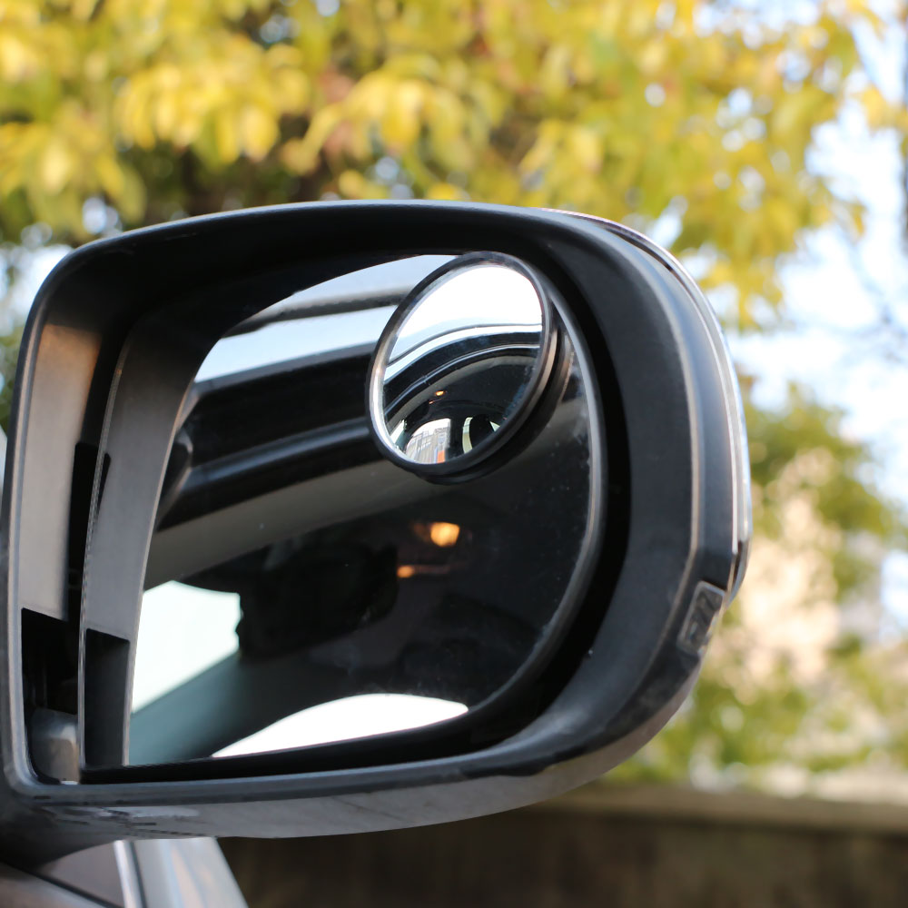 Car 360Degree Blind Spot Wide Angle Round Glass Convex Rear View <font><b>Mirrors</b></font> Sticker For <font><b>Ford</b></font> Everest Ranger Kuga Fiesta <font><b>Explorer</b></font> image