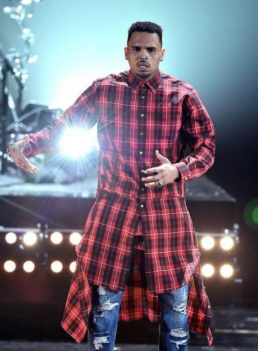 Vente chaude Nouvelle Étendue Long High Low Side Zipper Unisexe Homme Butin chemise T,shirt