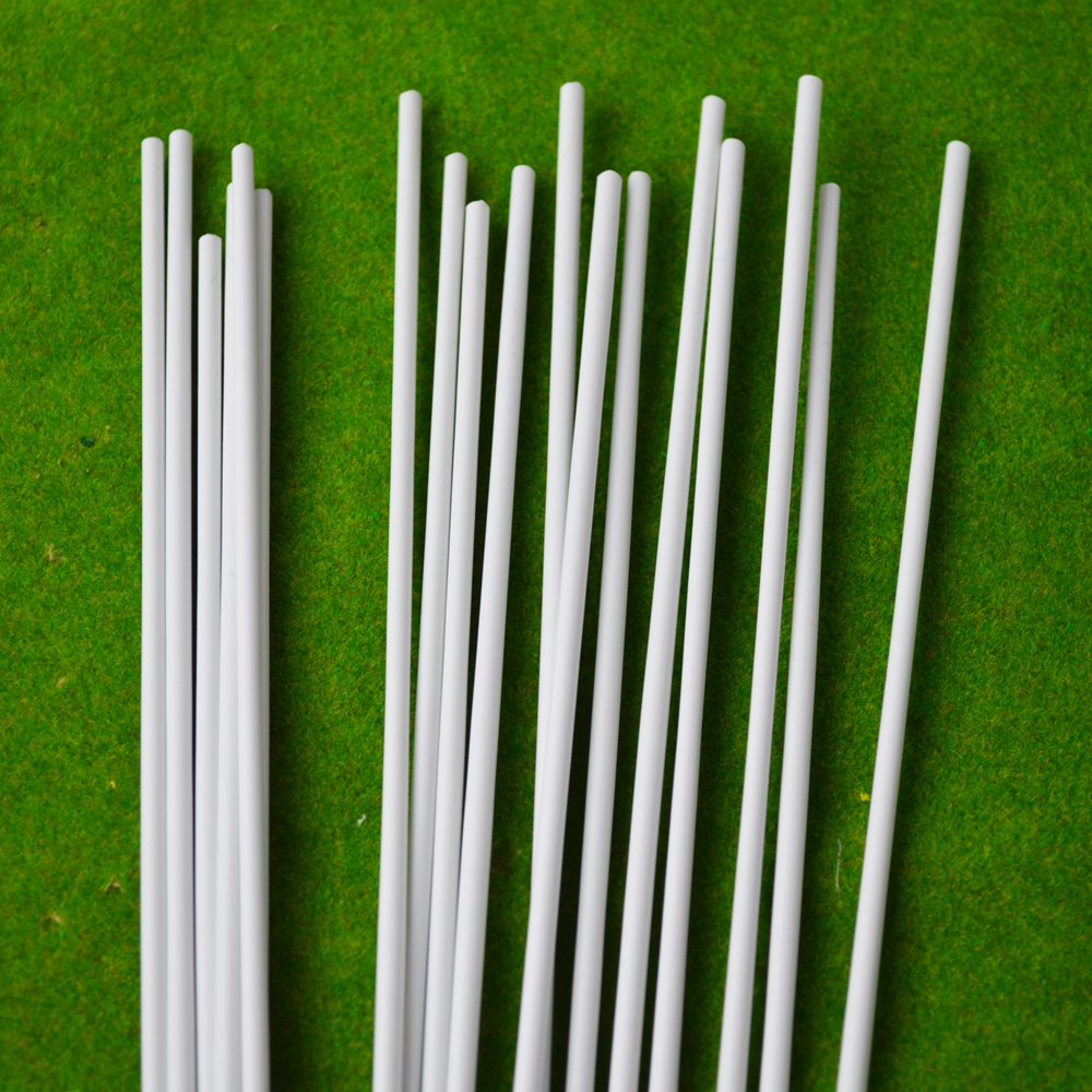 0 5mm ABS round stick ABS plastic rod in Model Building Kits from Toys Hobbies