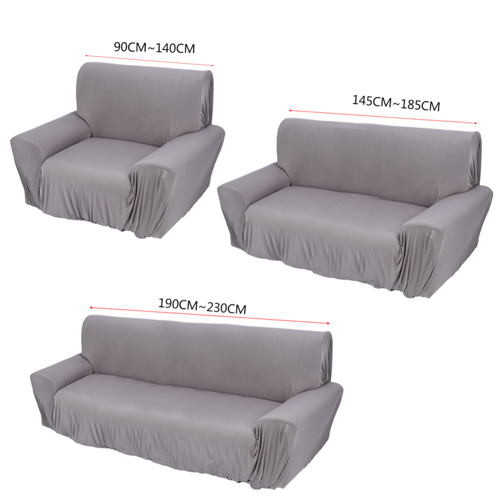Elastic Sofa Cover Protector Stretch Sofa Cover Single/Two/Three Seater  Furniture Home
